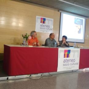 Gustavo Martín Garzo en la Casa de las Artes de Laguna deDuero