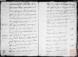 Página 29 y 30: Corresponde a a la microfilmación realizada por el CECOMi sobre las Respuestas Generales depositadas en Simancas e individualizada por pueblos según el Catastro