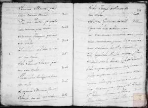 Página 31 y 32: Corresponde a a la microfilmación realizada por el CECOMi sobre las Respuestas Generales depositadas en Simancas e individualizada por pueblos según el Catastro