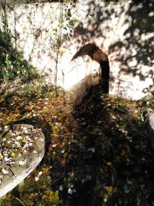 Salida de agua de la fuente