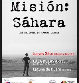 Proyección y coloquio. Misión: Sahara. ArturoDueñas