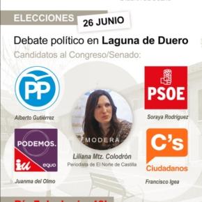 Los ciudadanos preguntan en Laguna deDuero
