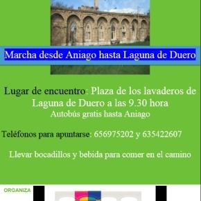 Marcha desde Aniago hasta Laguna deDuero