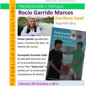 """Presentación del libro de relatos """"Caminando en tus zapatos"""", de Rocío GarridoMarcos"""