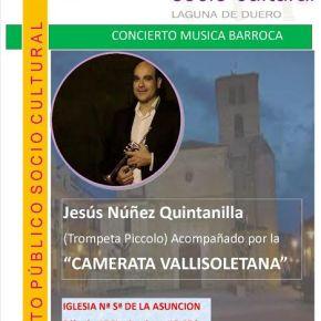 CONCIERTO DE MÚSICA BARROCA, con Jesús NúñezQuintanilla