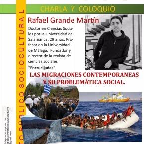 Resumen de la Charla-Coloquio: Las migraciones contemporáneas y su problemáticasocial.