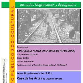 Resumen de la Charla-Coloquio: Experiencia activa en campos de refugiados por Colectivo Indignados deValladolid