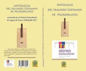 Libro Antología del II Certamen de Microrrelatos del Ateneo de Laguna deDuero