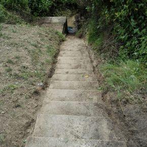 Intervención-limpieza de la Fuente Juana, por el Ateneo de Laguna yAphal