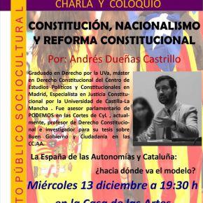 Resumen de la Charla-Coloquio sobre la Constitución y losnacionalismos