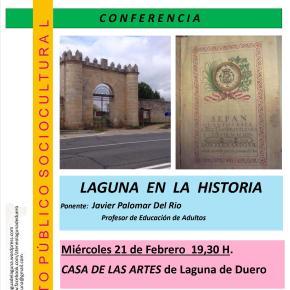 Conferencia y Coloquio: Laguna en la historia, por Javier Palomar delRío