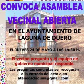 Asamblea Vecinal organizada por el Ateneo deLaguna
