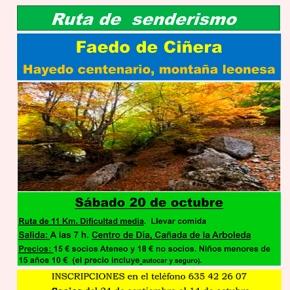 Excursión de senderismo al norte de León (Faedo deCiñera)