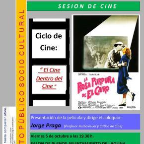 Cine-Fórum: La rosa púrpura del Cairo, de WoodyAllen
