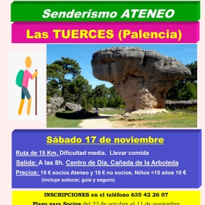 Excursión de senderismo al norte de Palencia (LasTuerces)