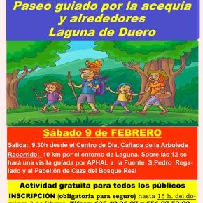 Senderismo por Laguna (acequia y alrededores) el09-02-19