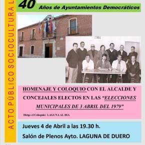 Resumen del Homenaje: 40 años de AyuntamientosDemocráticos