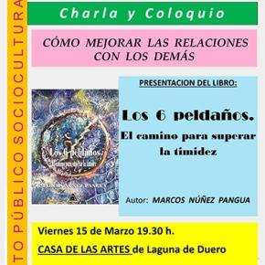"""Presentación del libro """"Los 6 peldaños"""", a cargo de Marcos NúñezPangua"""