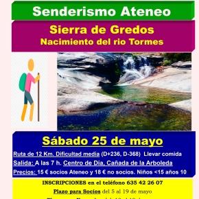 Excursión de senderismo a la Sierra de Gredos(Ávila)
