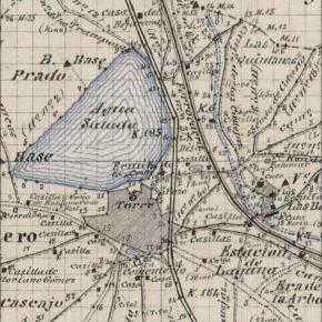 La evolución urbana de Laguna de Duero de 1950 a2017