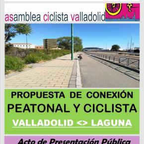 Propuesta carril bici del Ateneo de Laguna y Asamblea ciclista deValladolid