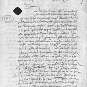 Pleito de la iglesia de Laguna con Cristobal de Morales en el sigloXVI
